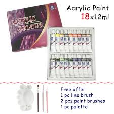 free brushes hot art nail painting drawing for teaching the artists child kids acrylic paints