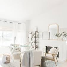 Shabby chic home office Color Study Room Midsized Shabbychic Style Freestanding Desk Light Wood Floor And Houzz 75 Most Popular Shabbychic Style Home Office Design Ideas For 2019