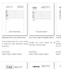 professional fax cover sheet free fax cover sheet templates