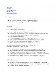 Amusing Resume Objective Samples For Dental Assistant I Sevte