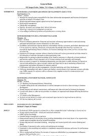 Download Senior Relationship Resume Sample as Image file