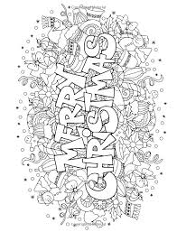 Printable Christmas Coloring Pages Pdf Coloring Holly For Coloring
