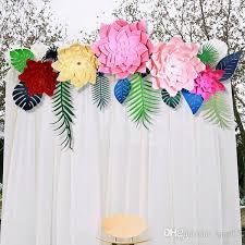 Paper Flower Decor Wholesale Celebration Paper Pinwheel Fan Backdrop Party Wall