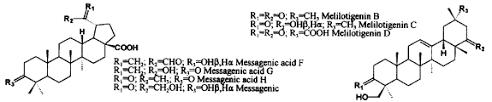 Bioactive polar triterpenoids from Melilotus messanensis ...