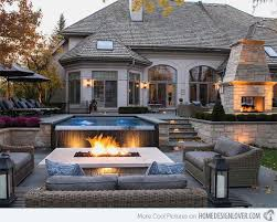 infinity pool backyard. Beautiful Pool FireWater Combo In 15 Traditional Pools With Fire Pits  Home Design  Lover Infinity Pool BackyardInfinity  And Backyard N