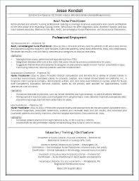 Family Nurse Practitioner Resume Amazing New Nurse Resume Samples Writing A Nursing Resume Example How To