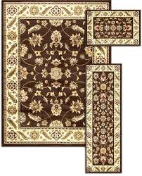 3 pc area rug set pc 3 pc accent rug set with wine and glasses motif