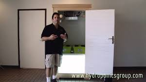 Hydroponic Grow Cabinet The Budster Grow Box Hydroponics Group Grow Cabinet Youtube