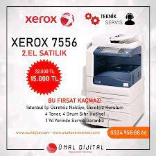 Istanbul içinde, ikinci el satılık Xerox 7556 2.El Yazıcı Fo