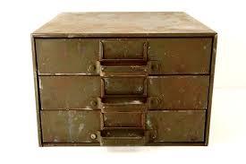 industrial furniture hardware. ThirdShiftVintage Vintage Industrial Hardware Cabinet Parts Bin With 3 Drawers (c.1940s) - Furniture E