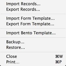 Address Change Form Template Magnificent Menu Commands Tap Forms Mac 4848