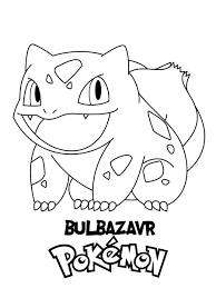 Thư viện tranh tô màu pokemon đẹp nhất 2020