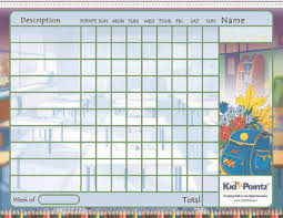 Motivational Charts For School Kids Printable Chart Classroom School Kid Pointz