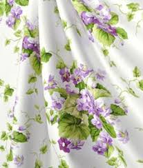 Sweet Violets Floral Quilt Set Bedding by Waverly | Shared Themes ... & violet decor items | Waverly Sweet Violets Violet Fabric : Adamdwight.com