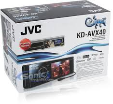 jvc kd avx40 kdavx40 in dash 3 5 tft lcd monitor dvd cd product jvc kd avx40