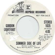 Image result for summer side of life gordon lightfoot 45