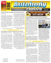 Autobody News January 2011 Southeast Edition by Autobody News - issuu