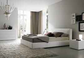 grey and white furniture. Cool Luxurious Soft Grey Painting Ideas ForMinimalist Bedrooms With White And Brown Combination Color Of Master Bed Furniture