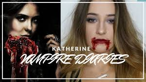 katherine inspired vire diaries makeup for clubbing