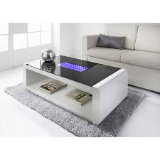 interior led infinity coffee table living room furniture b m great led 4 led coffee