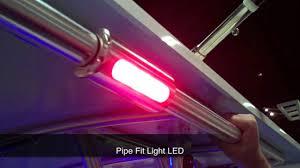 led deck rail lights. Taco Marine LED Lights Demonstrated At The Miami International Boat Show Led Deck Rail