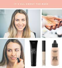 when it es to foundation a little goes a long way especially when you re trying to achieve the no makeup makeup look jacqui remends mac studio face