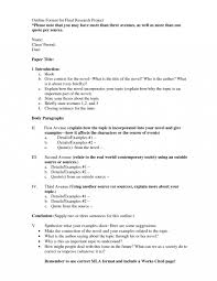 007 Research Paper Ap English Outline Sample Project 477737