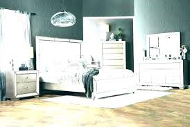 Mirror Headboard Bed Mirrored Bedroom Furniture With Set King Size M ...