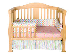 parker 4 in 1 convertible crib in natural magnifier