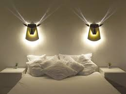 wall lighting for bedroom. Wonderful For View In Gallery  Inside Wall Lighting For Bedroom M