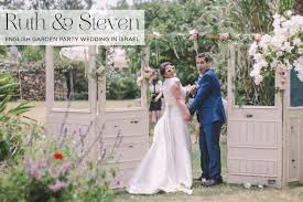 garden party wedding free delivery