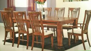 treez kiev 910 wooden dining set table 8 chairs
