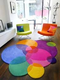 colorful rugs. Colorful Rug Photo 6 Of Round Cotton Rugs Lovely Cheap Kid . N
