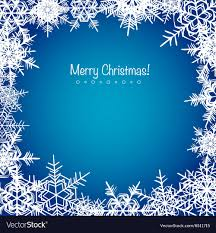 Christmas Snowflakes Pictures Blue Frosty Christmas Snowflakes Background