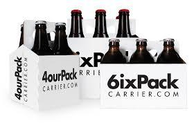 six pack beer carrier