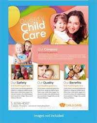 Samples Of Daycare Flyers Fantastic Daycare Flyer Magazines For Kids Childcare