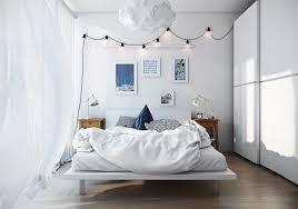 Scandinavian Interior Design Bedroom Scandinavian Bedroom Design Dominant With White Color Theme