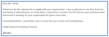 Email Message With Resume And Cover Letter Attached Adriangatton Com