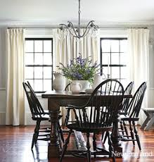 black windsor chairs. Black Windsor Chairs With Dark Wood Table. Gorgeous Windows Too! I