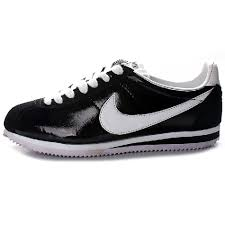 nike shoes for girls black. black leather nike shoes girls cortez ladies jogging for