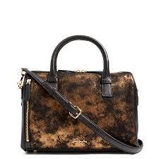 vera bradley marlo satchel in bronze agesatchels