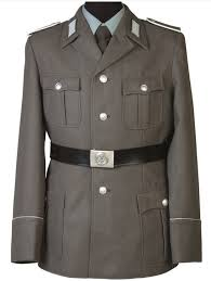 German Army Jacket Size Chart East German Army Uniform Jacket With Badges Grey Like New