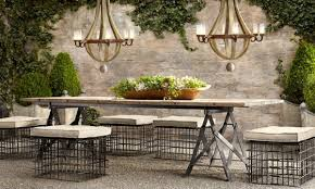 restoration hardware outdoor furniture. enchanting restoration hardware outdoor dining table patio furniture home e