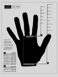 Golf Grip Sizing Chart