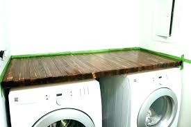 countertop for washer and dryer washer dryer s for and installing countertop above washer and dryer