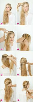Easy Hairstyles On The Go 25 Best Ideas About Quick Hairstyles On Pinterest Easy Hair Up