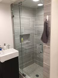 small bathroom shower door installation