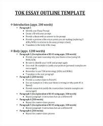 outline of essay example psychology research paper outline  outline
