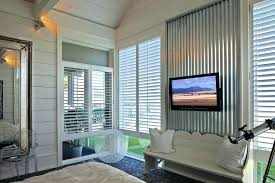 corrugated metal interior walls siding