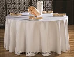 china hotel damask custom jacquard white wedding round table cloth china table cloth round table cloth